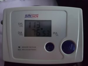 Blood pressure EFT success image